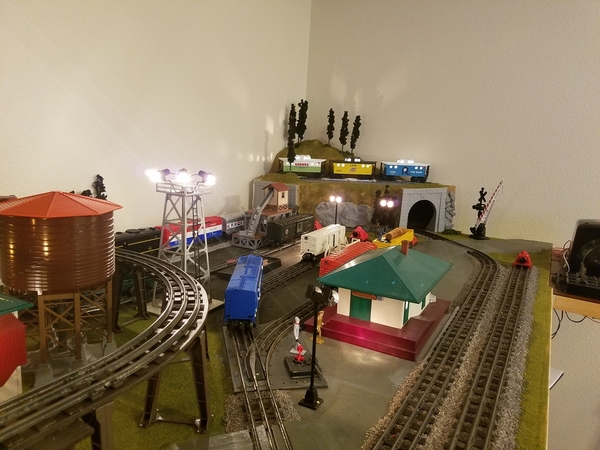Overview of yard