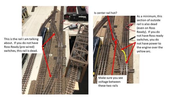 Dead rail