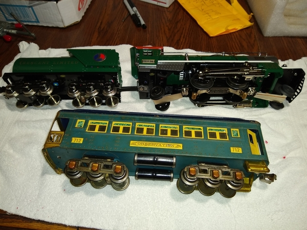 MTH 263e versus vintage 712