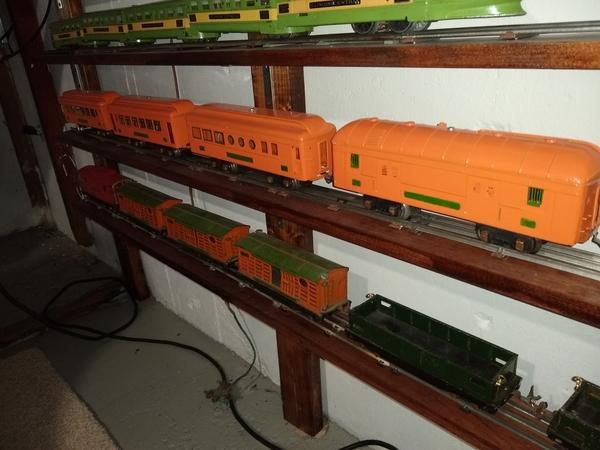 custom 700 series in orange