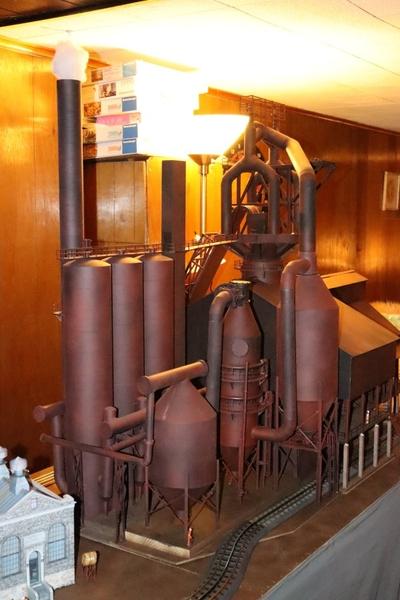 blast furnace-train [15)
