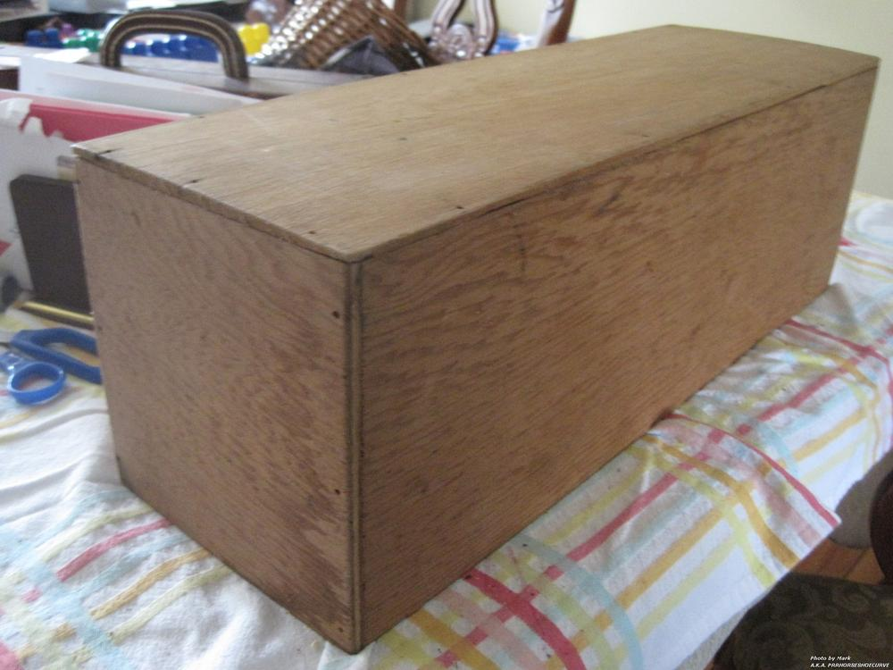 Looking for industry ideas 4 this old wood box o gauge for Old wooden box ideas