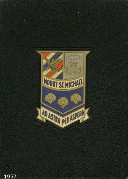 1957 Mt St Michael Yearbook