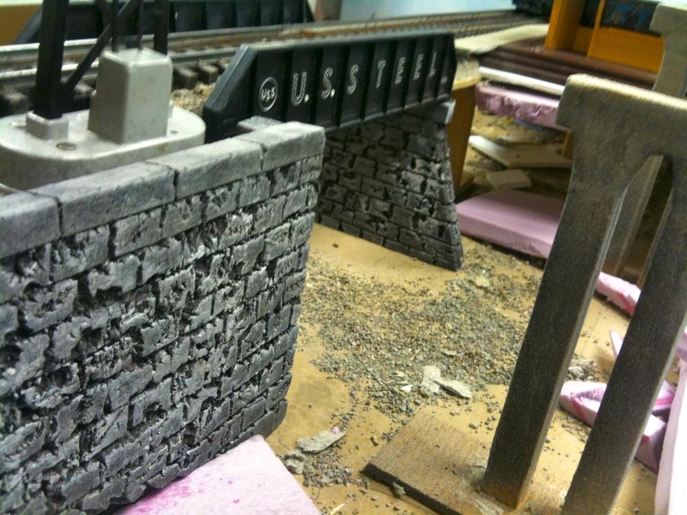 Making Tunnel Portals And Retaining Walls O Gauge Railroading On
