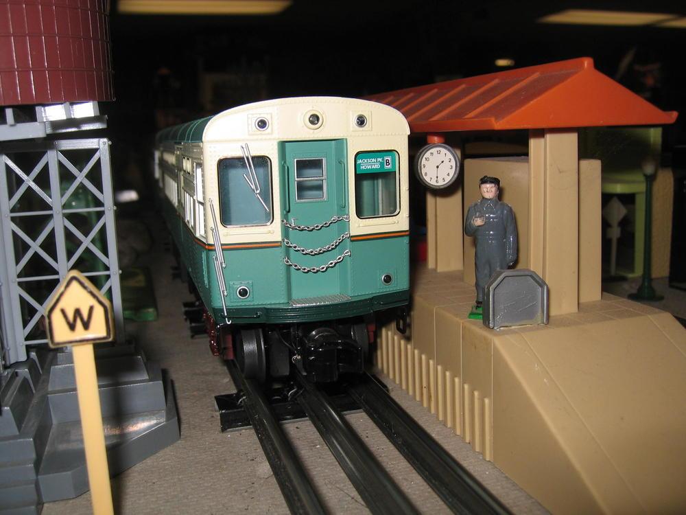 Large Christmas Train Set