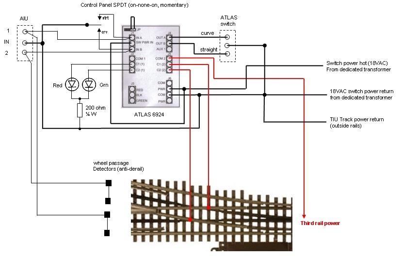 6924 atlas circuit board wiring o gauge railroading on. Black Bedroom Furniture Sets. Home Design Ideas