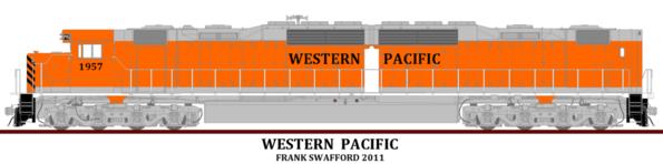 Western Pacific DD35A V2