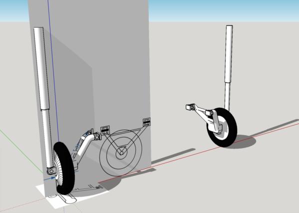 S-38 Landing Gear Proposal