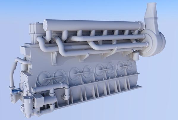 BLH Engine Comp wo Gen