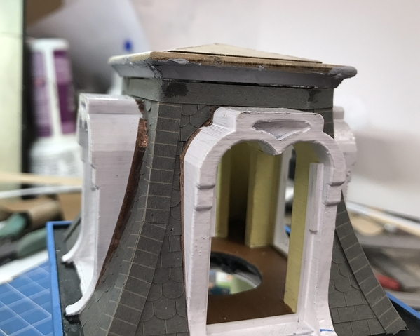 HBTRR Turret Roof Transition Fit