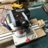 Chop Saw Depth Stop In Use 2
