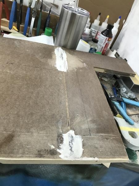 Idaho Baseplate Panel Joint Spackle