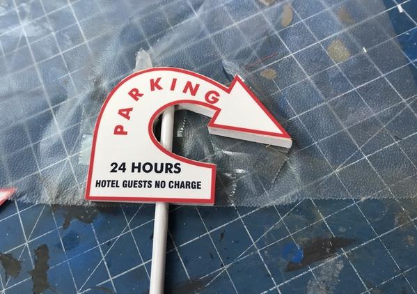 Idaho Parking Lot Sign Photo Version