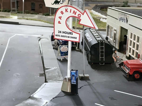 Idaho Parking Lot Sign Installed 1