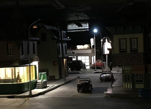 Idaho Parking Lot w Street Light