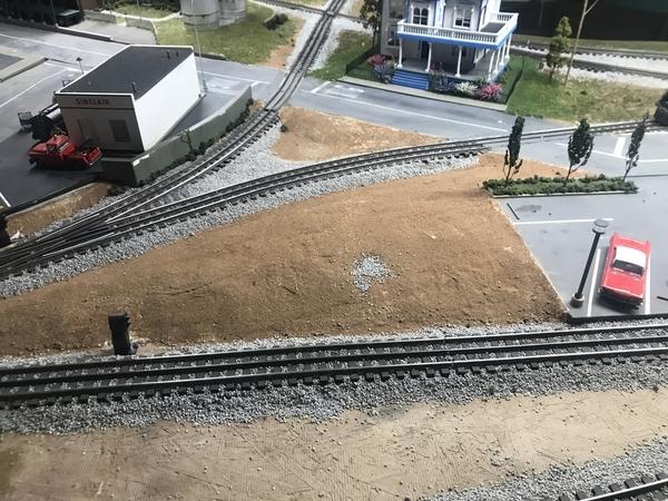 Layout Mound Near Station Space