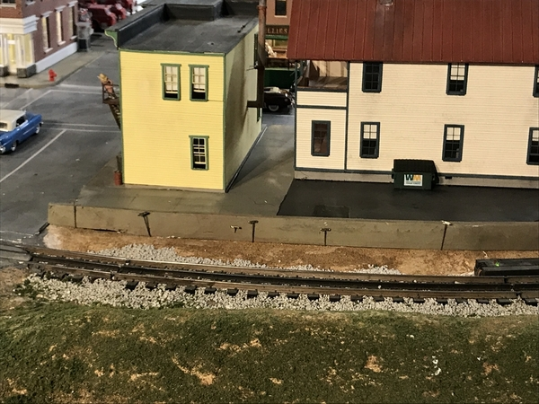 Idaho Parking Gluing Retaining Wall 1