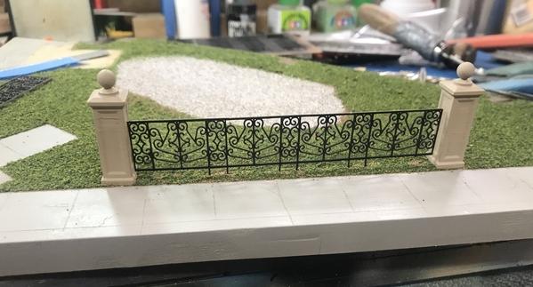 Heritage Park 1st Fence Piece