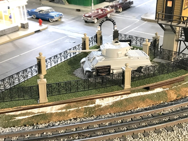 Heritage Park Complete w Tank Trial