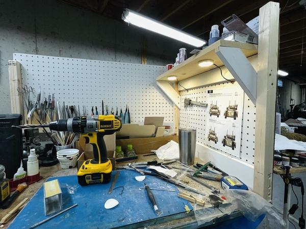 Model Bench Upgrade