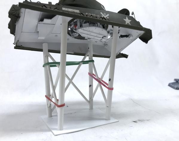 M3A4 Display Rack Glue Up