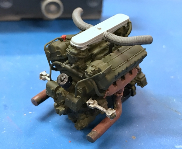 M4A3 Engine Painted 3