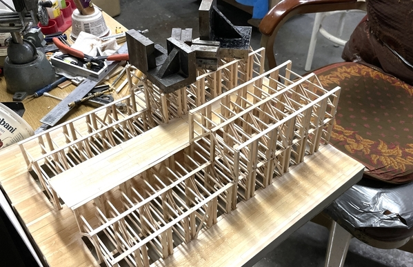 RH 2nd Level Row 2 Clamps