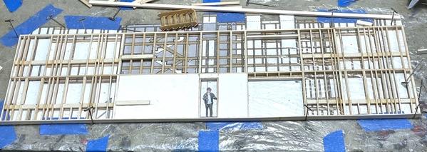 RH Frt Wall Upper Lvl Start