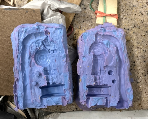 Chess Piece Successful Mold