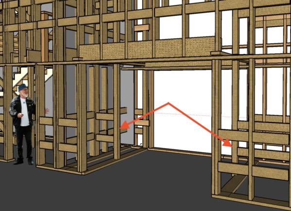 RH Elevator Framing CU