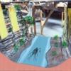Truss Bridge Ravine Scenic Concept