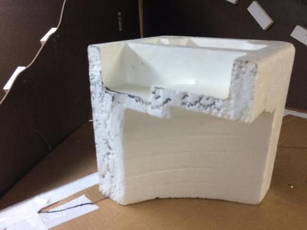 Styrofoam Cut