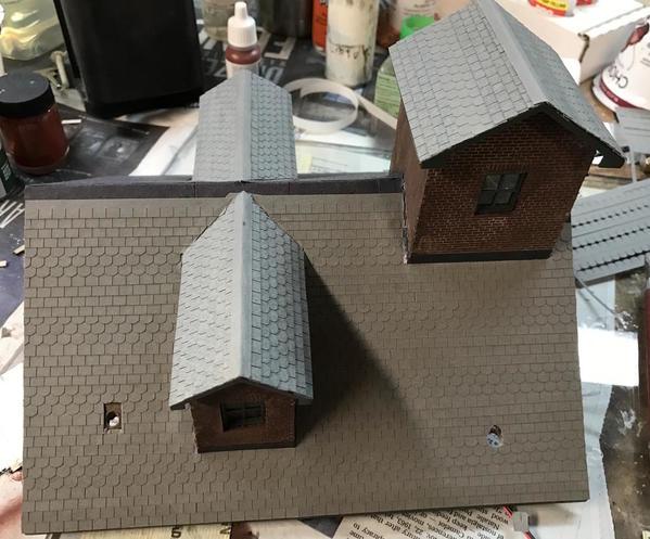 Main Roof Shingles Progress