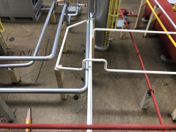 Refinery Pipe Interference