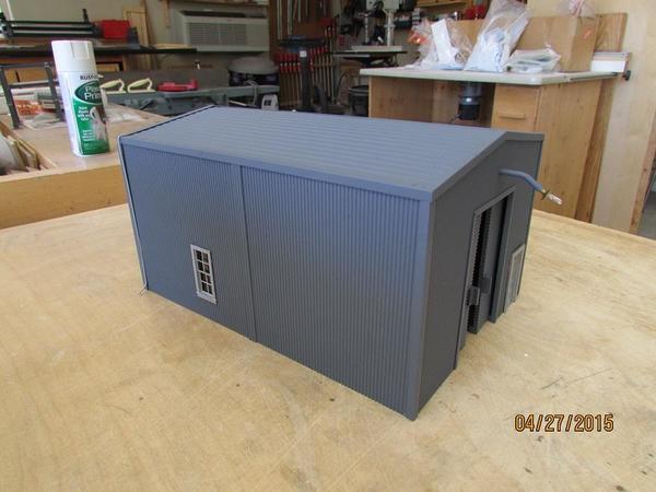 Steel Maintenance Shed 001