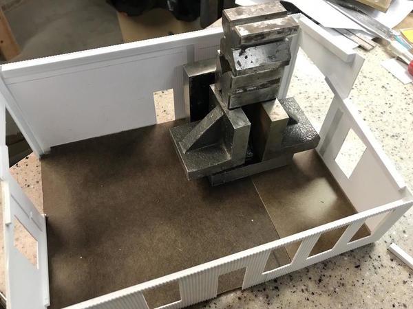 Refinery Ops Floor Gluing
