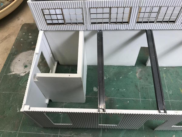 Refinery Ops Bathroom Walls