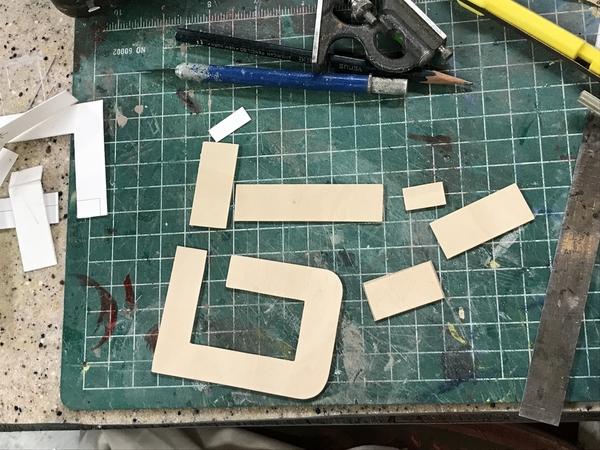 NH Wood Counter Parts