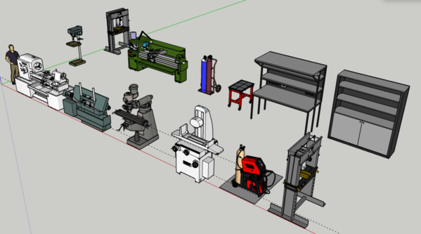 EH Machine tools