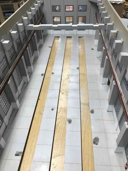 EH Gantry Rails Install
