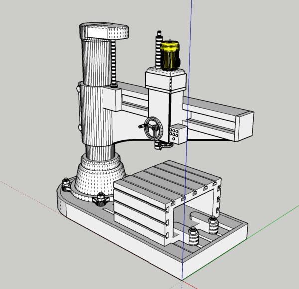Radial Drill SU Image