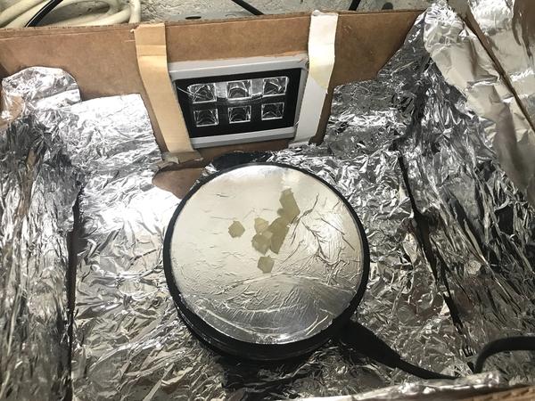 3D UV Box Turntable