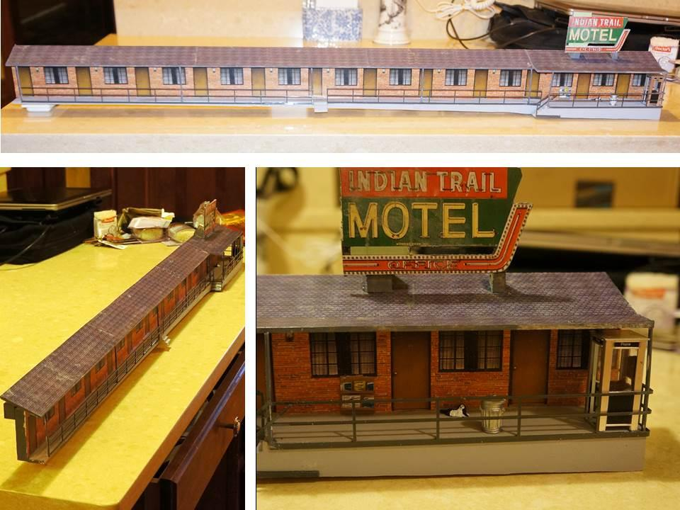 Quot Quickie Motel Quot To Accompany My Trailer Park O Gauge
