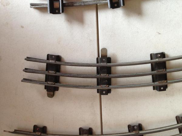Track accessory hook ups