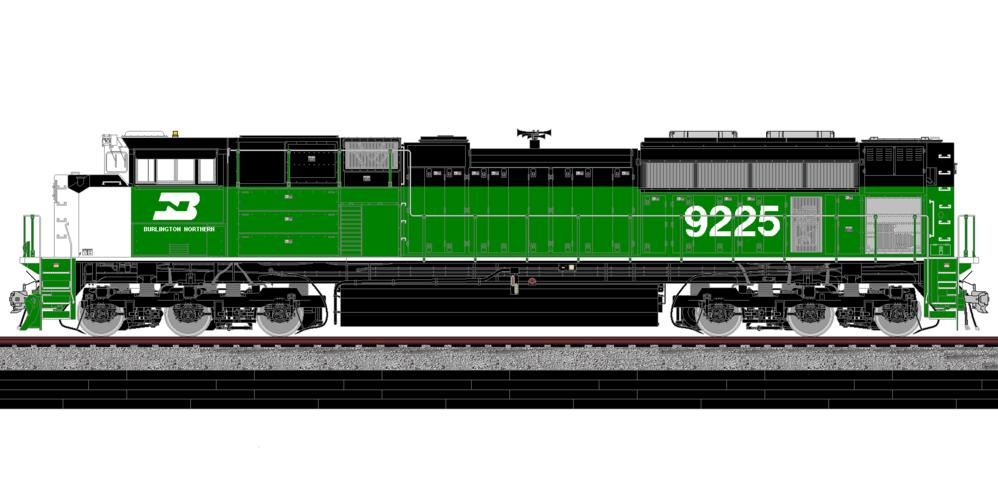 Paint Color Locomotive