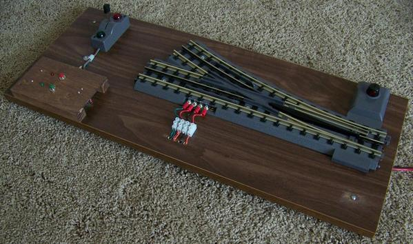 special wiring for use with the mth realtrax switch o. Black Bedroom Furniture Sets. Home Design Ideas