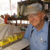 Dick Meyer and his O gauge tinplate Milwaukee Road Bipolar