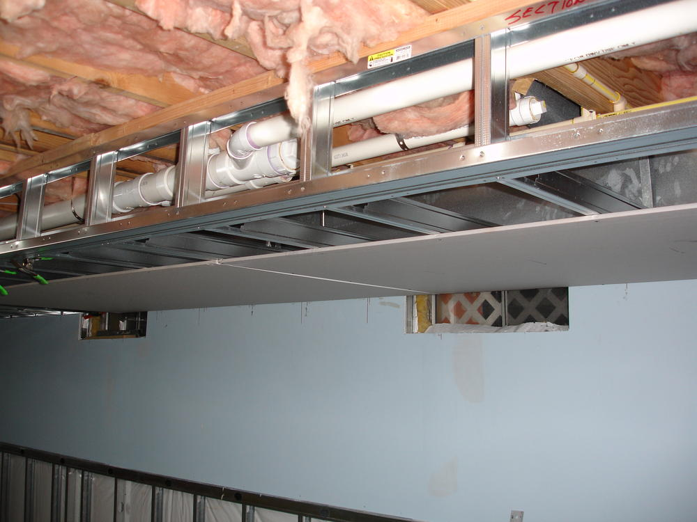What Ceiling If Any Is Above You Basement Layout O