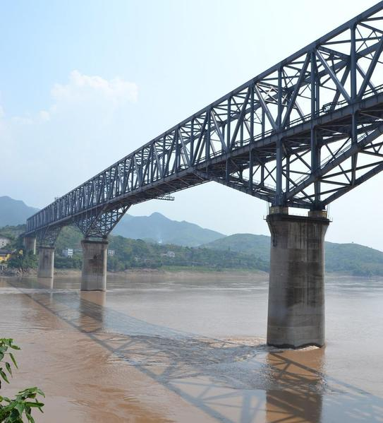 Changshou_Yangtze_River_Railroad_Bridge