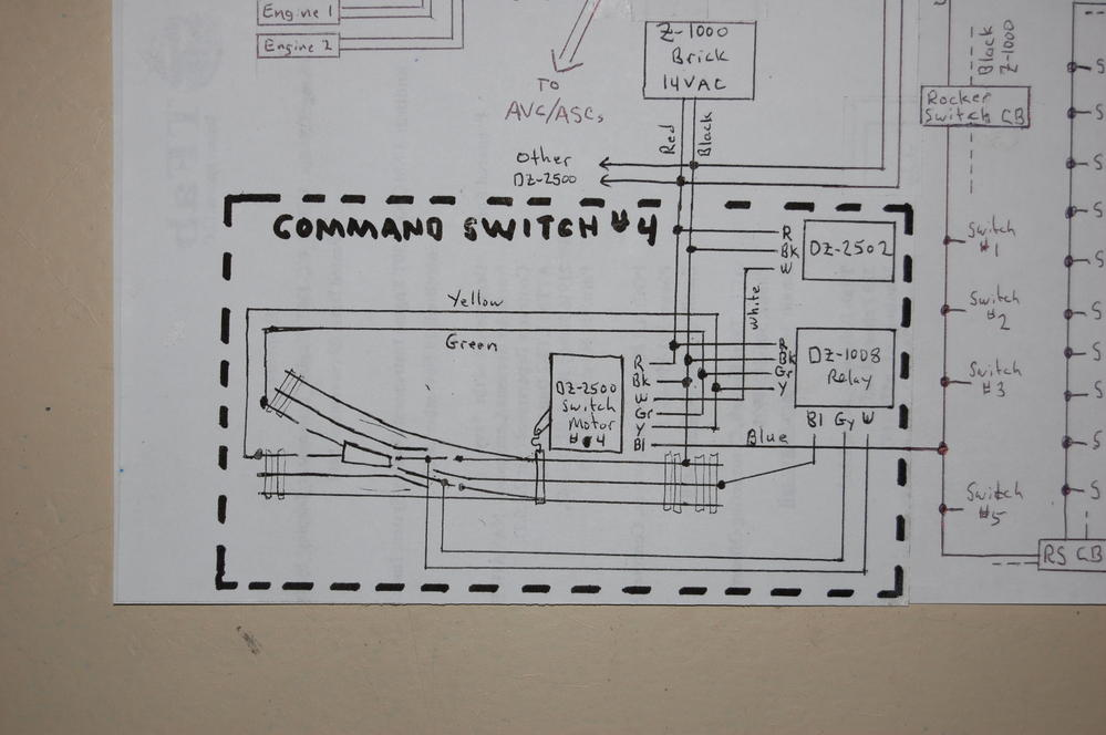 wiring dz 2500s for my layout updated to include track power o railroading on line forum